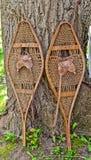 Старые ботинки снега Стоковые Фото