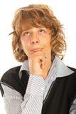 Σκεπτόμενο αγόρι εφήβων Στοκ Εικόνες