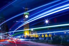 Лондон на ноче Стоковые Изображения