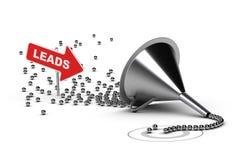 Квалифицируя руководства продаж, квалифицированные продажи Стоковые Фотографии RF