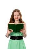 读书女孩 免版税库存图片
