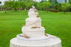 Свадебный пирог Стоковые Фотографии RF