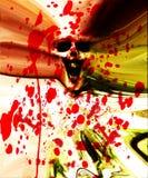Стена плоти зомби Стоковое фото RF