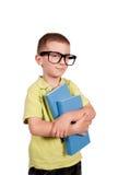 聪明的男孩 免版税库存图片