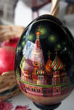 русский пасхального яйца Стоковое фото RF