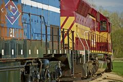 火车引擎 库存图片