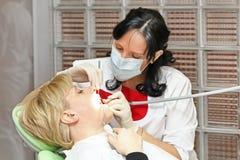 牙医 免版税库存图片