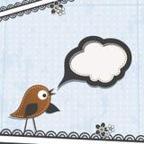 Поздравительная открытка шаблона, вектор Стоковые Фотографии RF