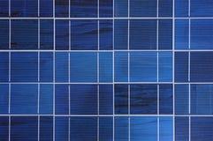 Фотогальванические элементы в панели солнечных батарей Стоковые Фото