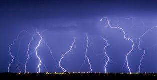 станцуйте молния Стоковое фото RF