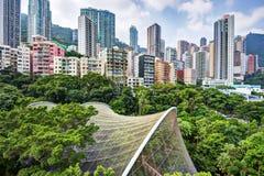 Парк Гонконга Стоковое фото RF
