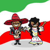 欢迎到墨西哥人 免版税库存图片
