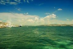 博斯普鲁斯海峡海峡 免版税库存照片