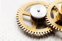 Механизм часов Стоковое Фото