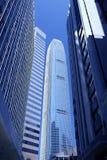 办公楼-商业区-香港 免版税库存图片