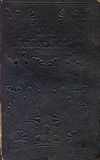αρχαία κάλυψη Βίβλων παλαιά Στοκ εικόνα με δικαίωμα ελεύθερης χρήσης