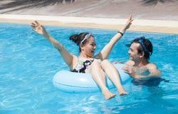 Κολυμπήστε τη διασκέδαση Στοκ Εικόνες