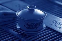 中国人宜兴茶壶 免版税库存照片