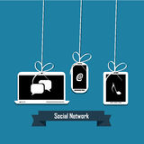 Συσκευές ηλεκτρονικής Στοκ Εικόνες