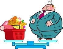 重的食者 免版税库存图片