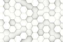 现代六角形背景 免版税库存图片