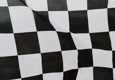 赛跑旗子 库存照片