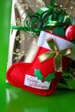 чулок рождества Стоковая Фотография RF