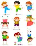 Συλλογή παιδιών Στοκ φωτογραφία με δικαίωμα ελεύθερης χρήσης
