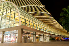 Λεωφόρος αγορών στην πόλη της Σιγκαπούρης Στοκ φωτογραφία με δικαίωμα ελεύθερης χρήσης