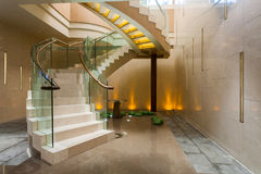 Σπειροειδής σκάλα Στοκ Εικόνες