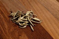свободные листья чая Стоковая Фотография RF