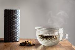 Современный японский чай делая комплект Стоковое Изображение