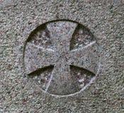 马耳他十字形 免版税库存照片
