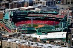 波士顿,麻省:芬威球场,红袜队的家 库存图片