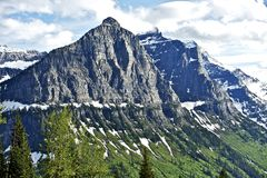 Δύσκολα βουνά της Μοντάνα Στοκ Εικόνα