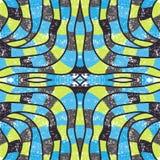 Безшовная абстрактная картина линий Стоковое фото RF