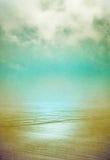 沙子和雾 库存照片