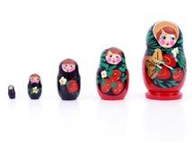 俄语的玩偶 库存图片