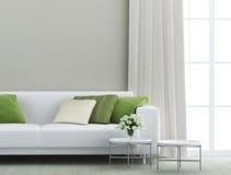 Красивая живущая комната Стоковые Фото