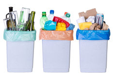 Ανακυκλώνοντας σκουπίδια Στοκ Εικόνα
