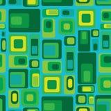 Геометрическая безшовная картина Стоковое Фото