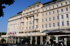 布拉索夫旅馆卡尔顿 免版税库存照片