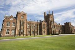 皇后大学贝尔法斯特 免版税库存照片