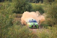 Автомобиль ралли Стоковые Фотографии RF