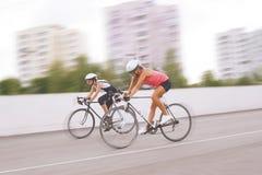 自行车竞争 免版税库存图片