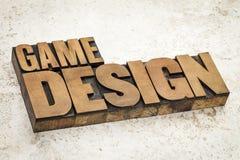 游戏设计 免版税图库摄影