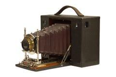 古董吼叫照相机 免版税库存照片