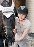 与马的画象 图库摄影