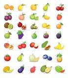混杂的果子 库存照片