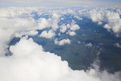 空中背景照片 免版税库存照片
